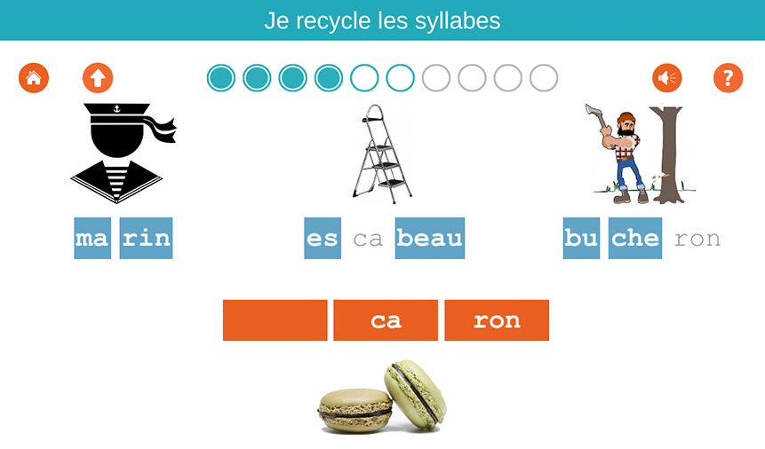 Je recycle les syllabes